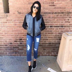 Blank NYC bomber jacket